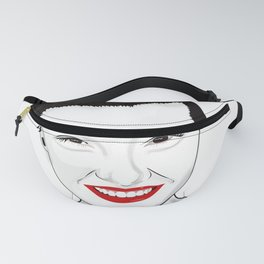 Happy independant woman strong and healthy Fanny Pack