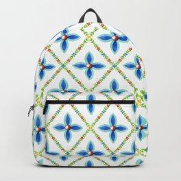 Elizabethan Folkloric Lattice Backpack
