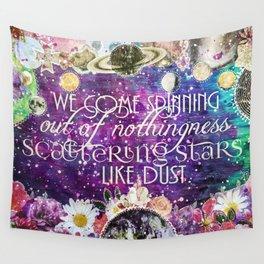 Scattering Stars Like Dust Wall Tapestry