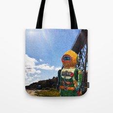 Tressel's Robot Tote Bag