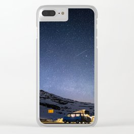 Sparkling Adventures Clear iPhone Case