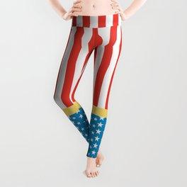 Superhero Wonder Pattern I Leggings