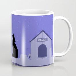 Moon Dog Coffee Mug