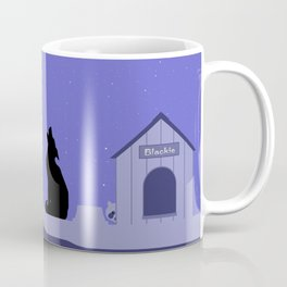 Moon Dog Coffee Mug