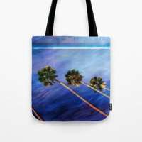 palms Tote Bags featuring Palms by Psocy Shop