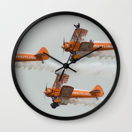 Dancing on Planes Wall Clock