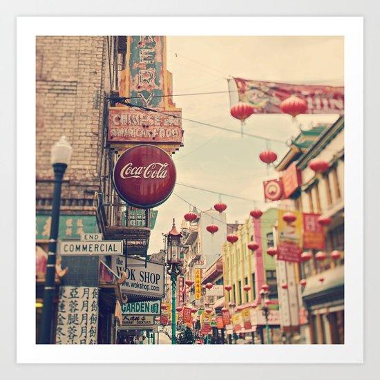 Chinatown (San Francisco) Art Print