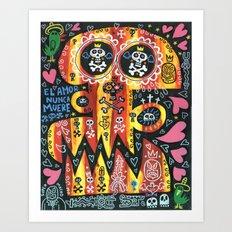 Amor Nunca Muere 2 Art Print
