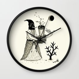 Harbinger of Anxiety Wall Clock