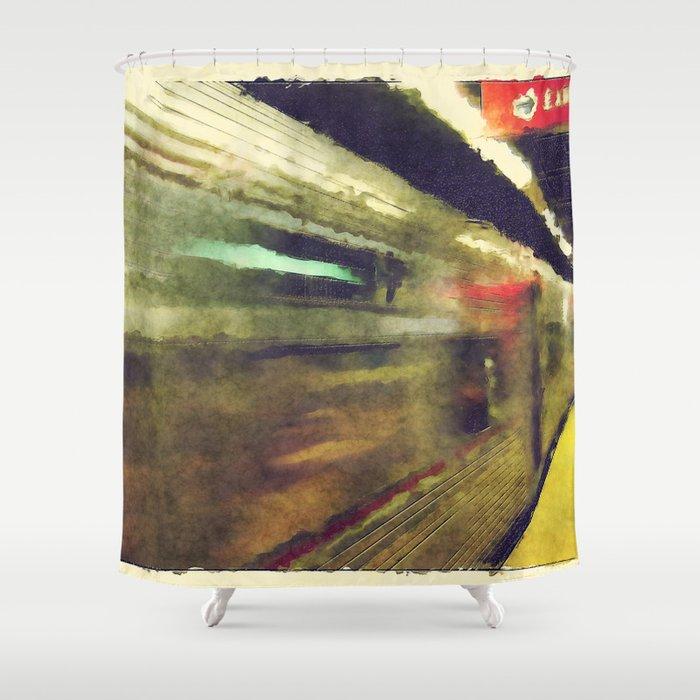 Philly Underground Shower Curtain