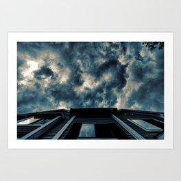 OMINOUS SKY Art Print