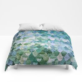 REALLY MERMAID OCEAN LOVE Comforters