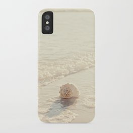Seashell by the Seashore I iPhone Case