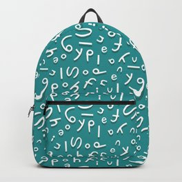 words Backpack