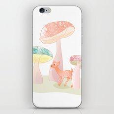 Mushrooms trees iPhone & iPod Skin