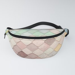 Cute Rainbow Scales Fanny Pack