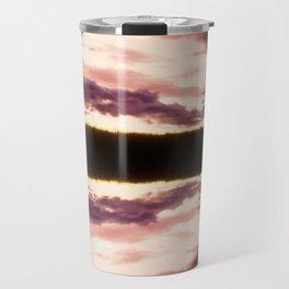 Rorschach's Sunset Travel Mug
