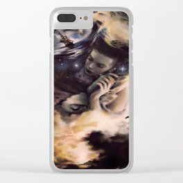 Amidst Lovers Fixation Clear iPhone Case