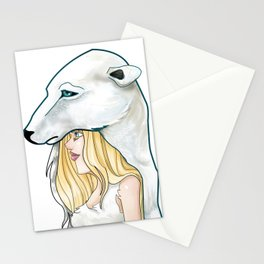 Winter, the Polar Bear God Stationery Cards
