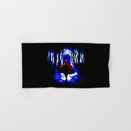 Shadow Light Of Tardis Hand & Bath Towel