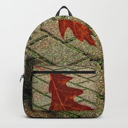 First Leave Of Autumn Backpack