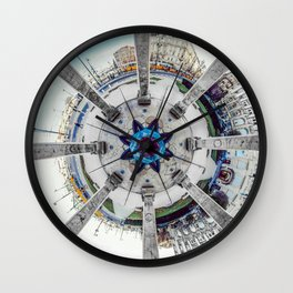 Mandala square Wall Clock