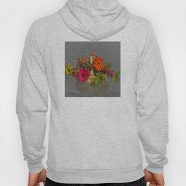 Flower Basket Still Life Hoody