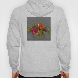 Flower Basket Still Life Hoody