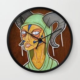 Disgusted Wall Clock