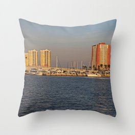 Along the Banks of the Caloosahatchee Throw Pillow