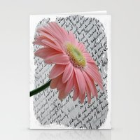 passion Stationery Cards featuring passion by  Alexia Miles photography