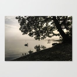 The Young Lovers at Windermere Canvas Print