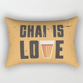 Chai Is Love Rectangular Pillow