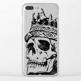 Metal Head Shop | The King Clear iPhone Case