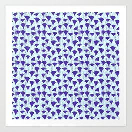 Carpe Diem Triangles Art Print