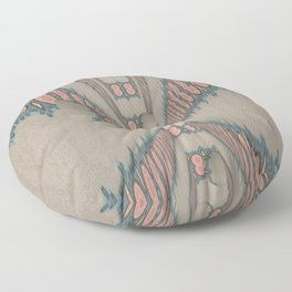 Pallid Minty Dimensions 11 Floor Pillow