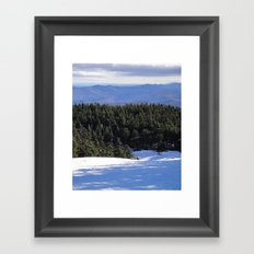 VT Trail Framed Art Print