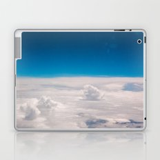 Blue and White at the sky Laptop & iPad Skin