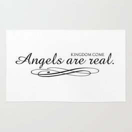 Angels are real. Rug