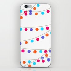 Circle Bunting iPhone & iPod Skin