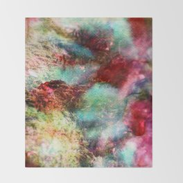 Passionate Flowers Throw Blanket