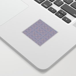 Light pink and blue tapestry 4635 Sticker