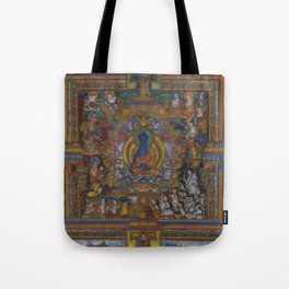 The Medicine Buddha Tote Bag