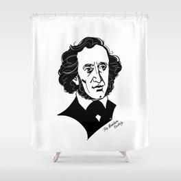 Felix Mendelssohn Shower Curtain