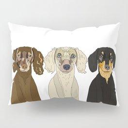 Triple Doxies Pillow Sham