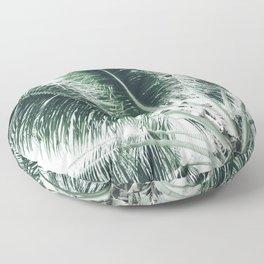 Maui Paradise Palm Hawaii Floor Pillow