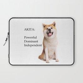 Akita Love Laptop Sleeve