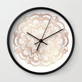 Mandala Gold Shine II Wall Clock