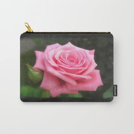Pink Roses in Anzures 4 Blank P4F0 Carry-All Pouch