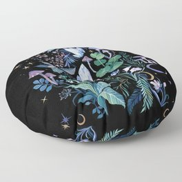 Mystical Garden Floor Pillow